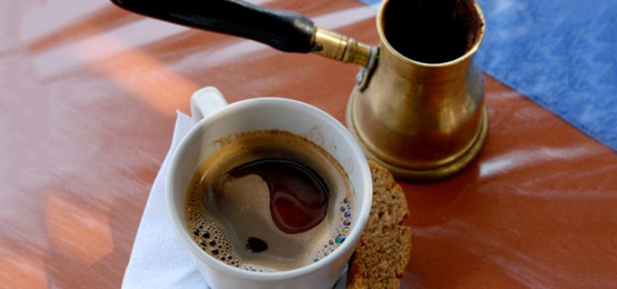 Boiled Greek Coffee